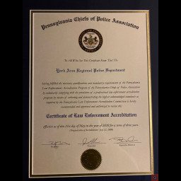 2020 Accreditation Certificate