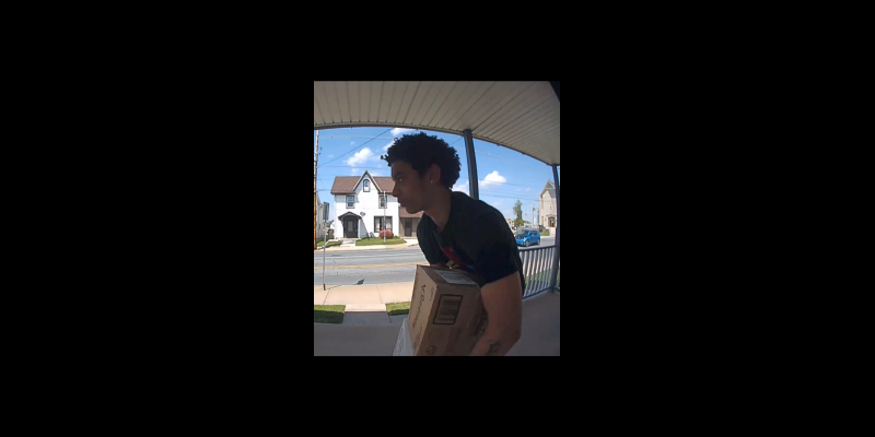 Image for Porch Pirate Identified