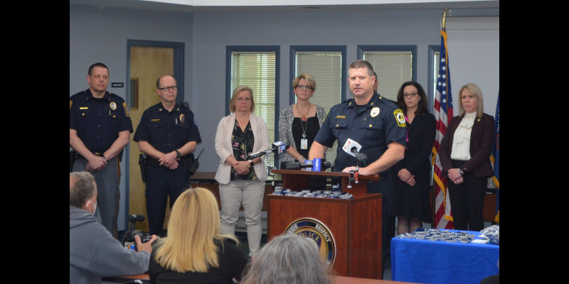 Image for Crisis Intervention Press Conference